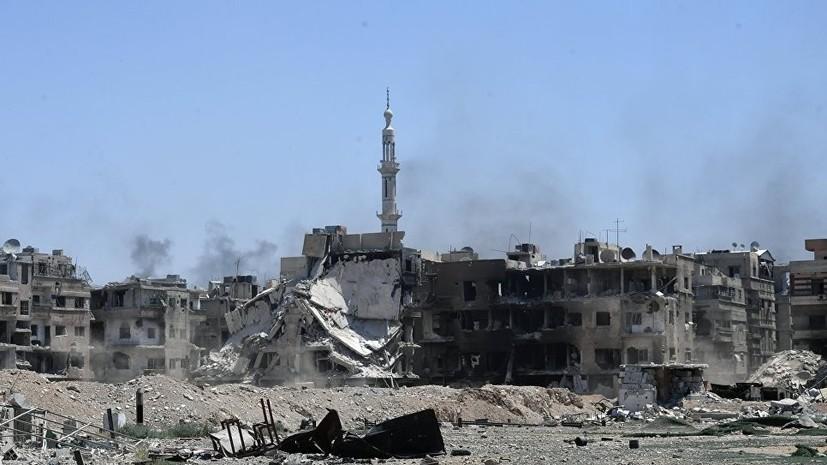 В ООН предложили создать механизм снятия санкций Запада с Сирии