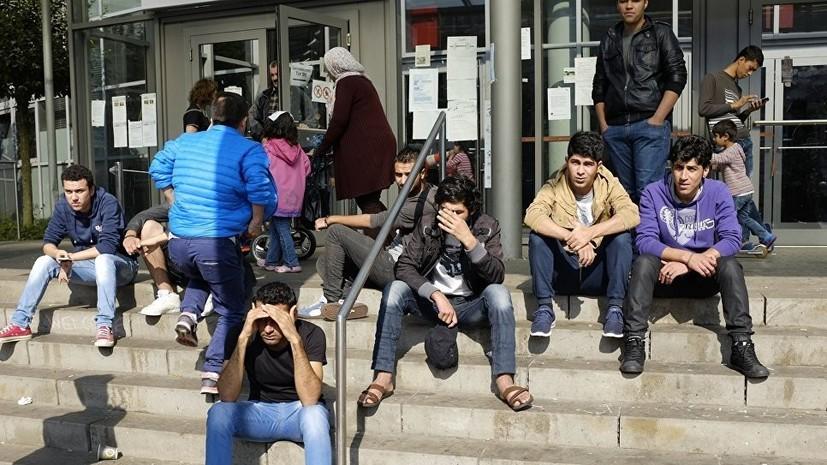 МВД ФРГ определило срок пребывания беженцев в транзитных лагерях