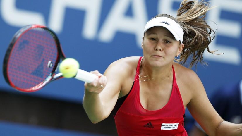 Российская теннисистка Родина вышла в третий круг Уимблдона
