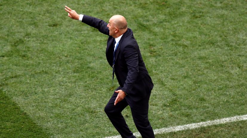 Эксперт оценил тактику Черчесова в матче с Испанией