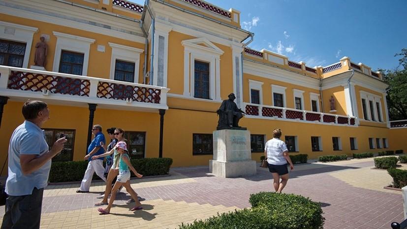Власти Крыма назвали самые популярные музеи региона