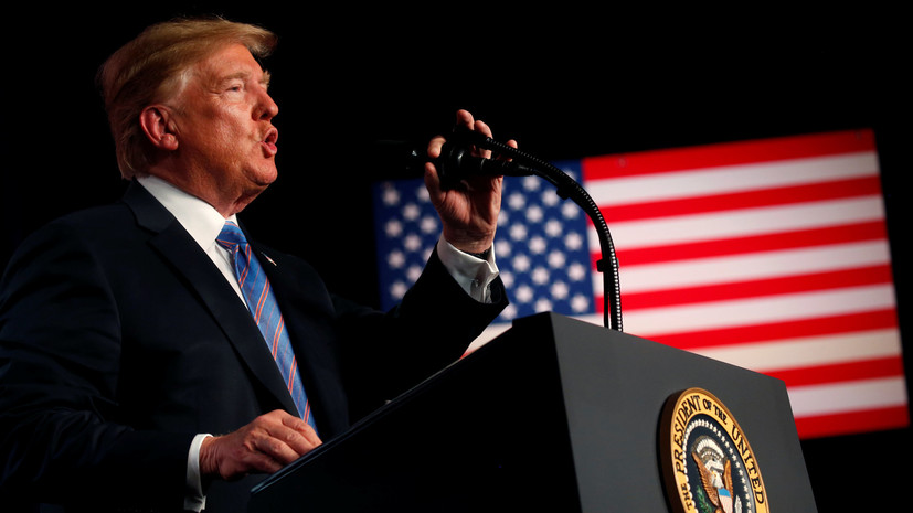 Трамп поздравил американцев с Днём независимости США
