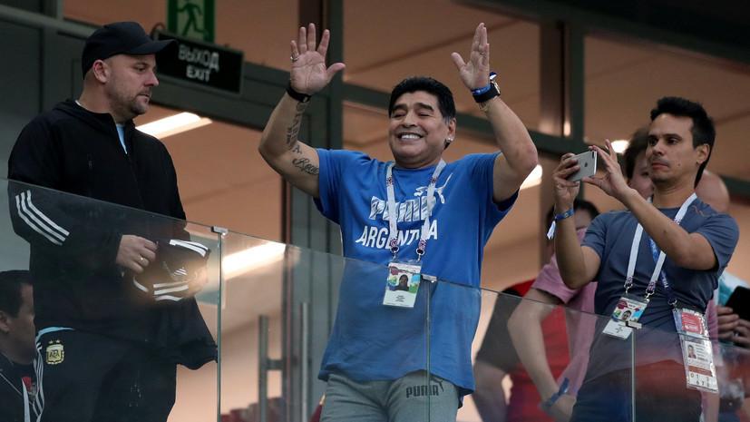 Марадона приедет вБеларусь 16июля. Он желает познакомиться сЛукашенко