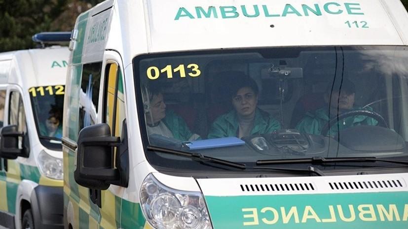Семь человек пострадали из-за разлива опасного для здоровья вещества в аэропорту Тбилиси