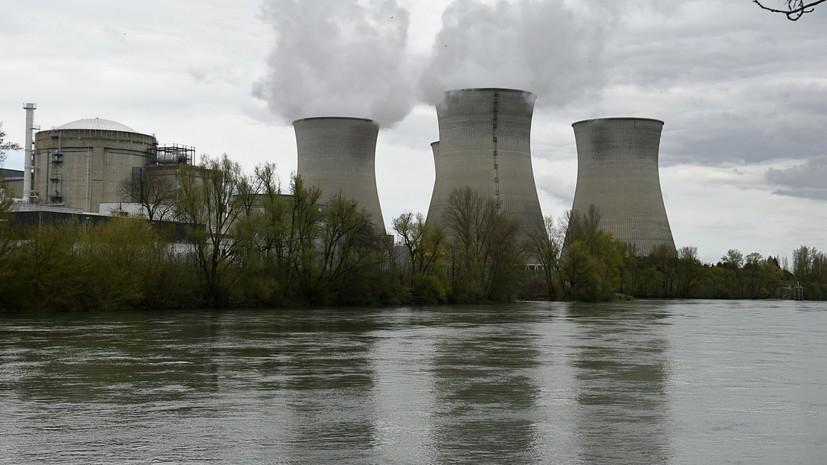 СМИ: Французские парламентарии заявили о возможности аварий на ядерных объектах страны
