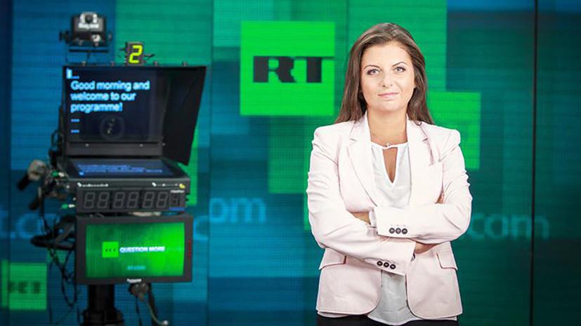Симоньян о дискуссии в британском парламенте: сели обсуждать«Новичок», а обсудили RT