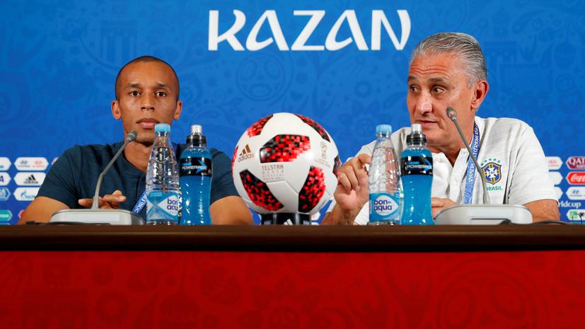 «Ему есть куда расти»: тренер сборной Бразилии о работе с Неймаром, четвертьфинале ЧМ и сериях пенальти