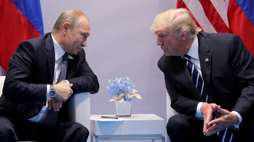 В США заявили о возможности достичь конкретных договорённостей на встрече Трампа и Путина