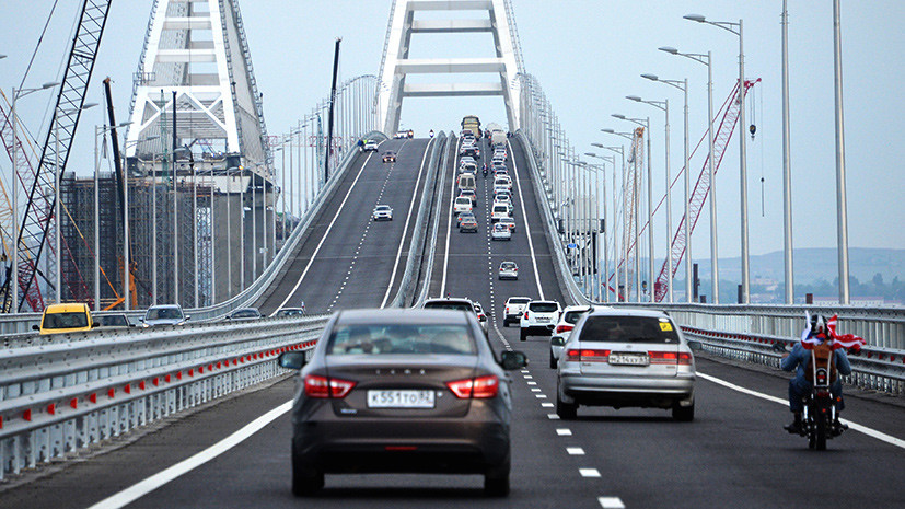 «Мы все его очень ждали»: как с открытием Крымского моста увеличился туристический поток на полуостров