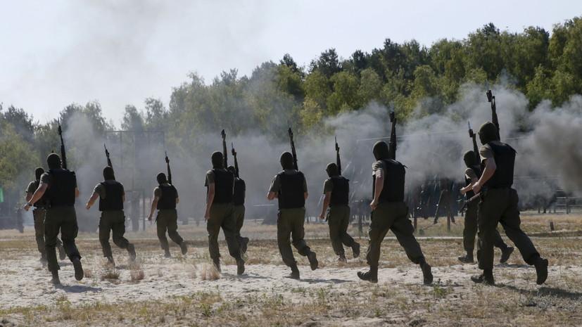 На Украине во время занятий по боевой подготовке погибли несколько военных