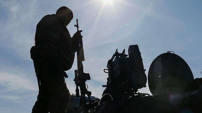 В Минобороны Украины заявили о трёх погибших военнослужащих в результате ЧП на полигоне