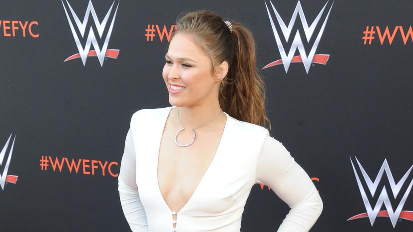 Ронда Роузи стала первой дамой, включённой вЗал славы UFC