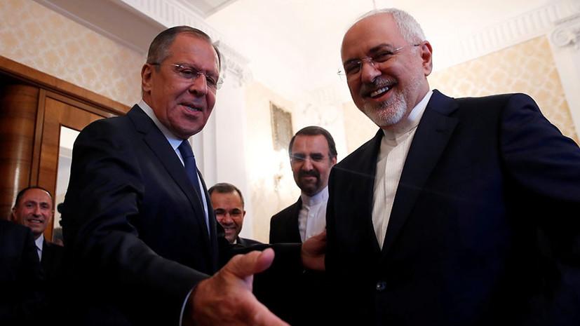 В Вене началась встреча Лаврова и Зарифа по иранской ядерной программе