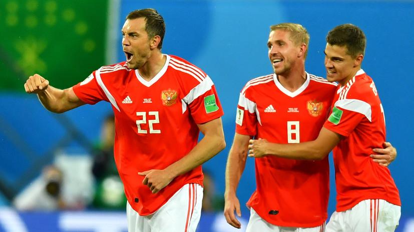 Сборная России по футболу сыграет с Хорватией в красной форме