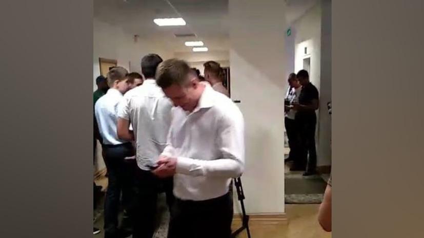В Киеве неизвестные заблокировали работу «Укравтодора»