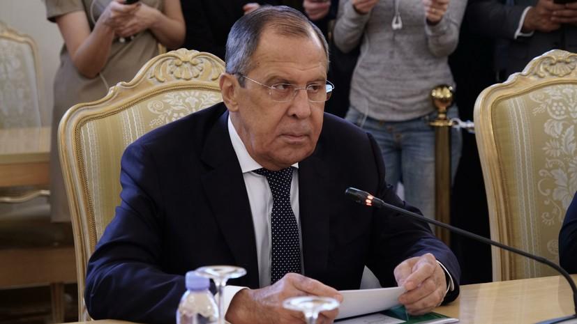 Лавров рассказал, что обсудят Путин и Трамп на встрече в Хельсинки