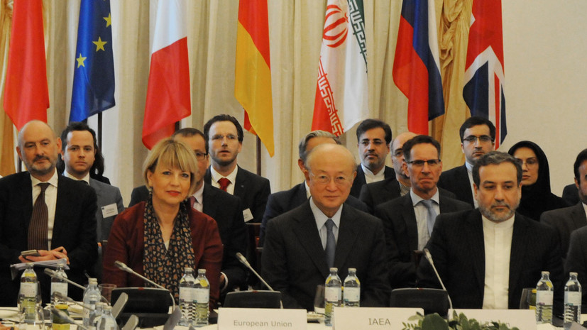 Лавров: страны «пятёрки» считают политизированным выход США из ядерной сделки с Ираном