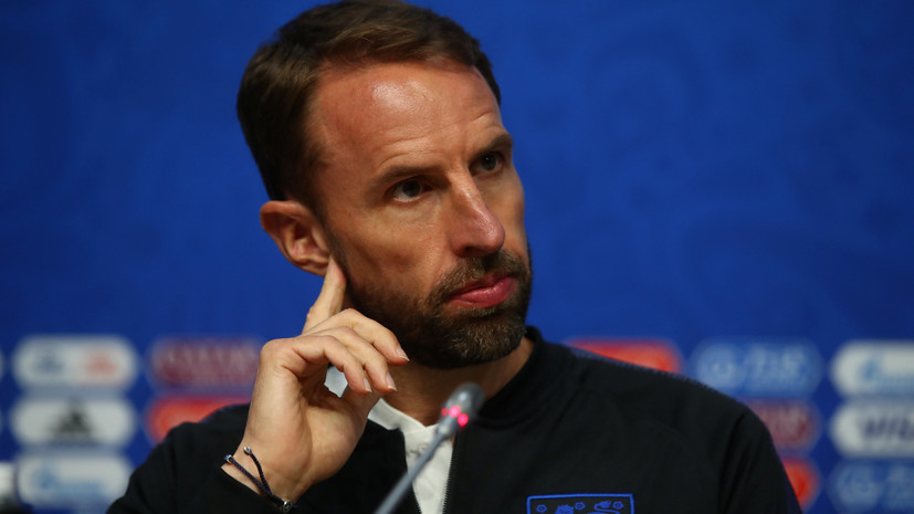 Тренер сборной Англии Саутгейт назвал фантастическими все города России, которые посетила команда во время ЧМ