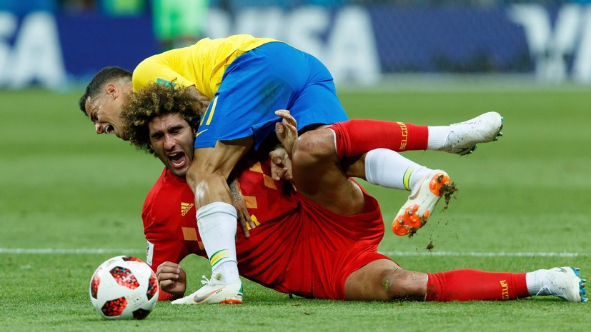 «Этот матч не мог не восхитить»: как тренеры сборных Бельгии и Бразилии оценили свои команды после игры