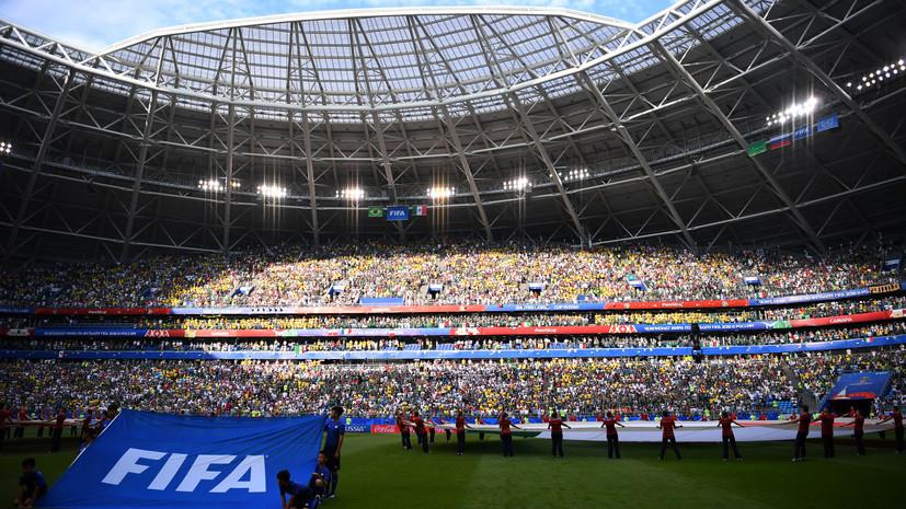 Азаров: зимой ФИФА планировала снять «Самара Арену» с ЧМ-2018
