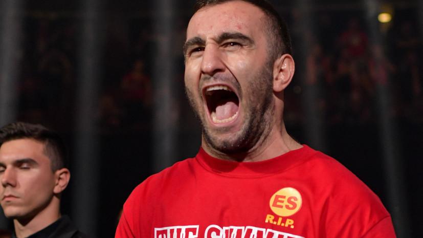 Боксёр Гассиев: радует, что российские футболисты намерены прийти на мой бой с Усиком