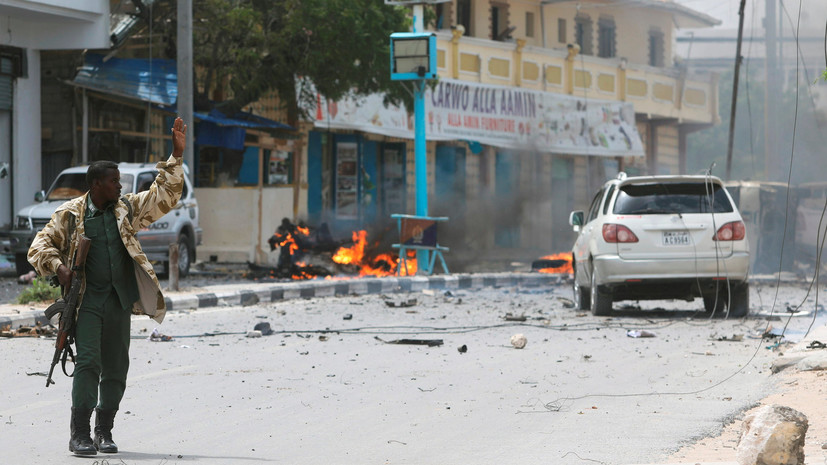 2-ой взрыв прогремел встолице Сомали