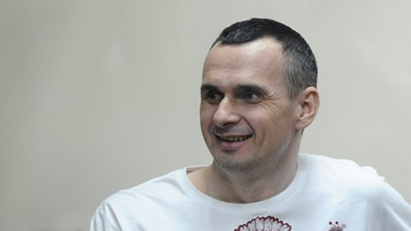 Сенцов сообщил в письме о своём здоровье
