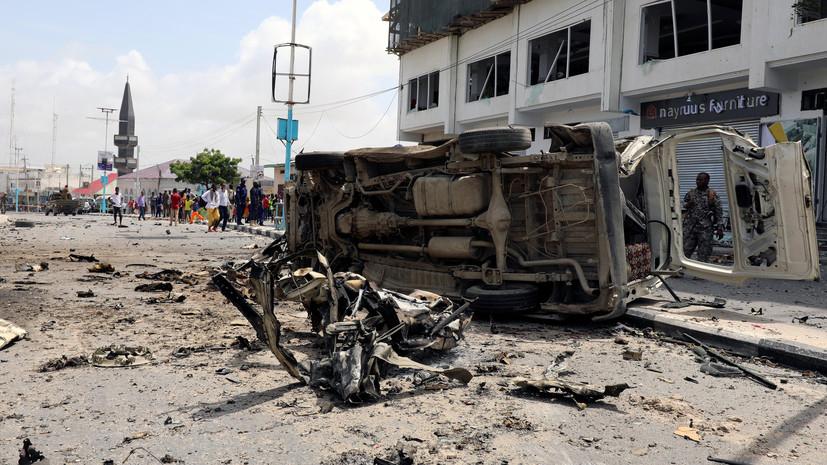 Девять человек погибли при взрывах в Сомали