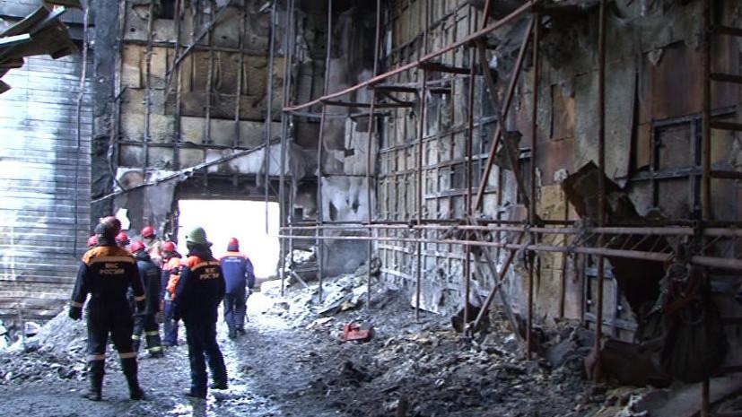 Начальник службы пожаротушения в Кузбассе задержан по делу о пожаре в ТЦ «Зимняя Вишня»