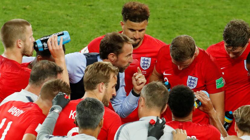 Стали известны стартовые составы сборных Швеции и Англии на матч 1/4 финала ЧМ-2018