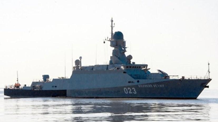 Порт в Каспийске сможет принять первые боевые корабли до конца года