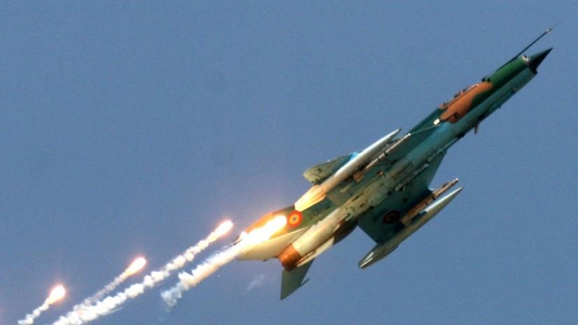 В Румынии на показательных выступлениях разбился МиГ-21