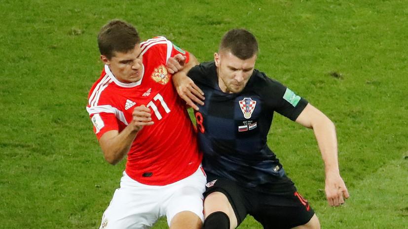 Зобнин объяснил, почему он не бил пенальти в матче ЧМ-2018 с Хорватией