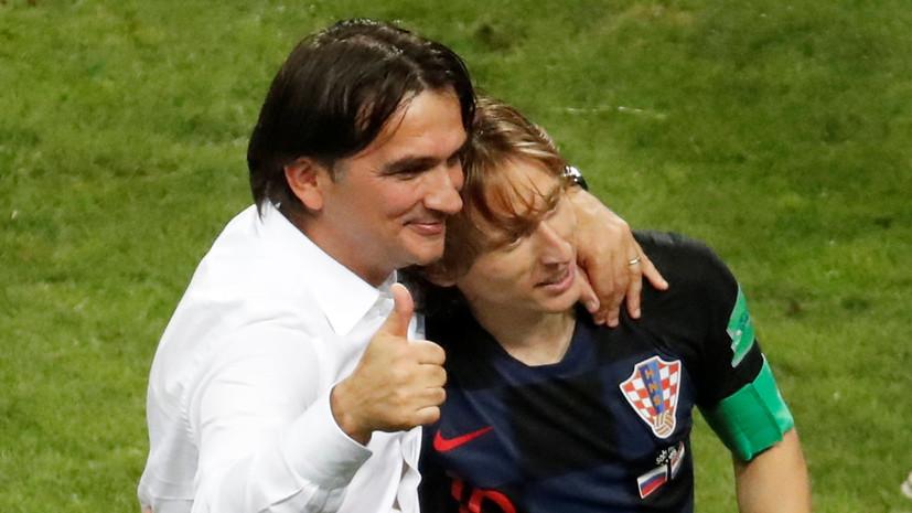 Далич описал свои эмоции после выхода сборной Хорватии в полуфинал ЧМ-2018