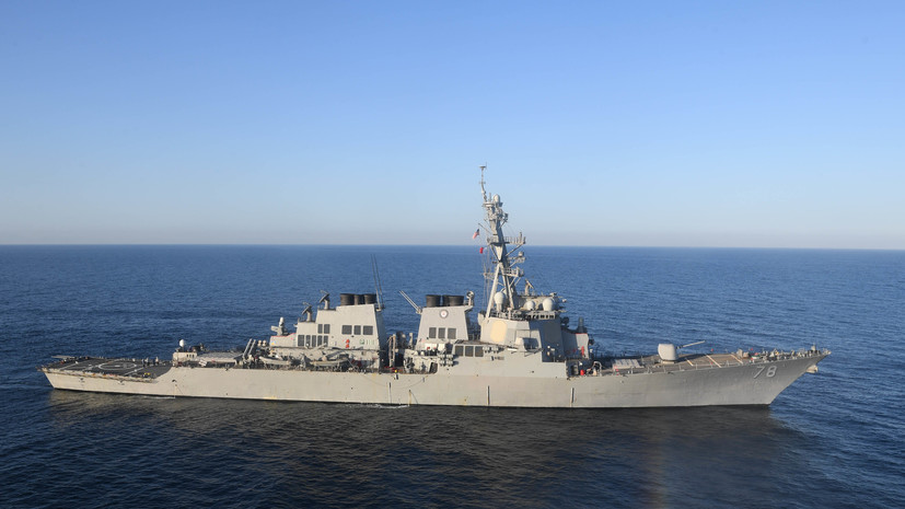«Маунт Уитни» и «Портер»: корабли ВМС США зашли в Чёрное море для проведения совместных учений с Украиной