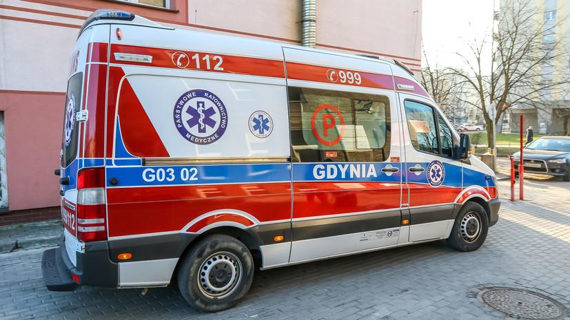 После утечки химиката ваэропорту Варшавы вынуждены прибегнуть кпомощи медиков  14 человек