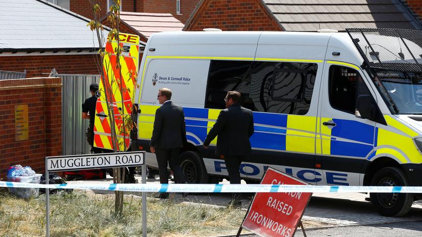 В Британии заявили об отсутствии планов вводить санкции против России из-за инцидента в Эймсбери