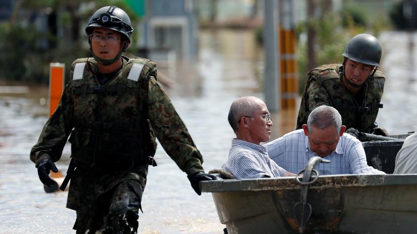 Число погибших из-за ливневых дождей в Японии увеличилось до 85 человек