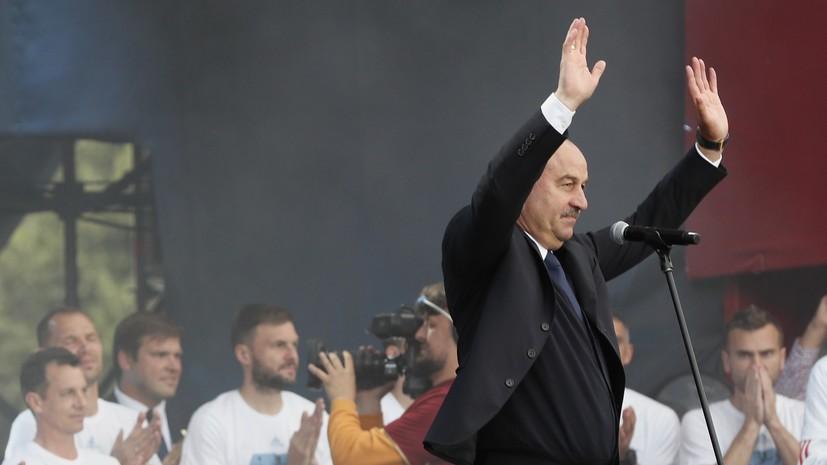 Федун высказался о шансах Черчесова остаться главным тренером сборной России по футболу