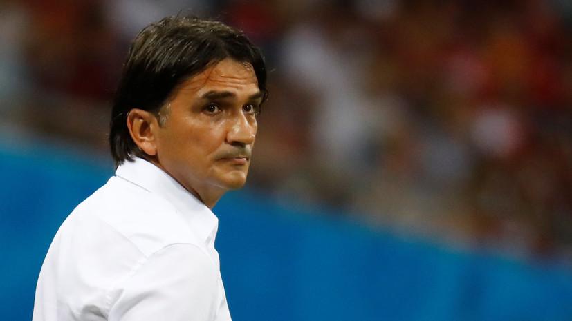 Далич признался, что сборной Хорватии было проще играть с Аргентиной, чем с Россией