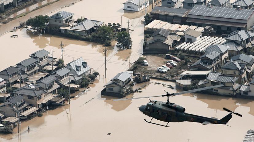 Число погибших из-за последствий ливневых дождей в Японии возросло до 103 человек
