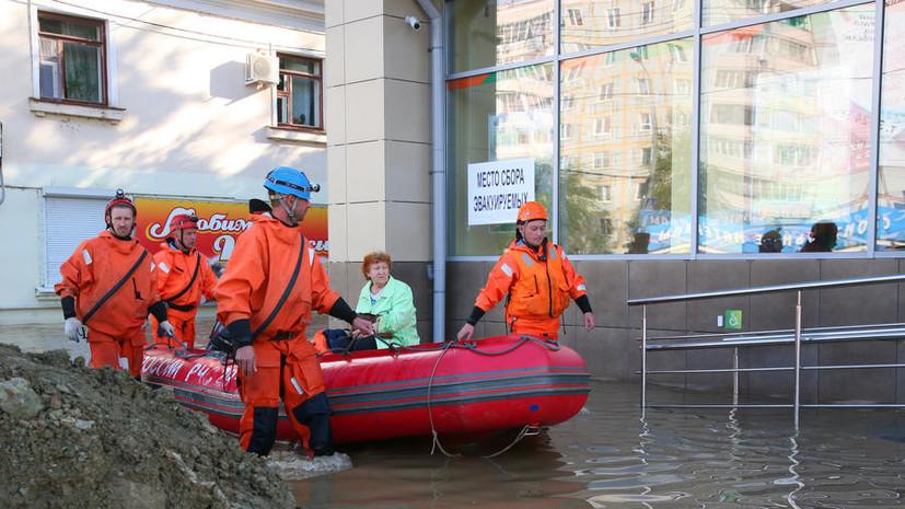В Забайкалье из-за паводков объявлен режим ЧС