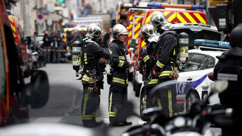 Десять человек пострадали при взрыве газа на западе Франции