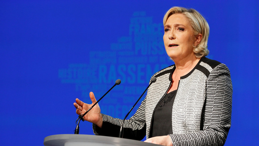 Ле Пен назвала лишение её партии госфинансирования нападением на демократию