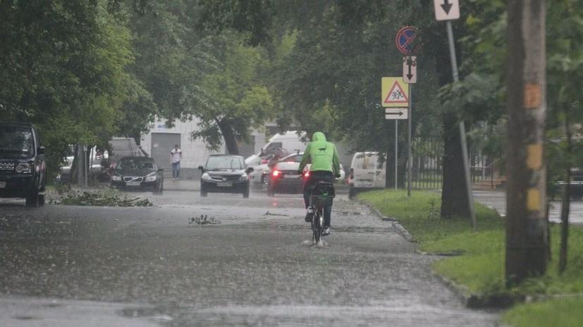 Синоптики прогнозируют жаркую погоду и дожди в Московском регионе