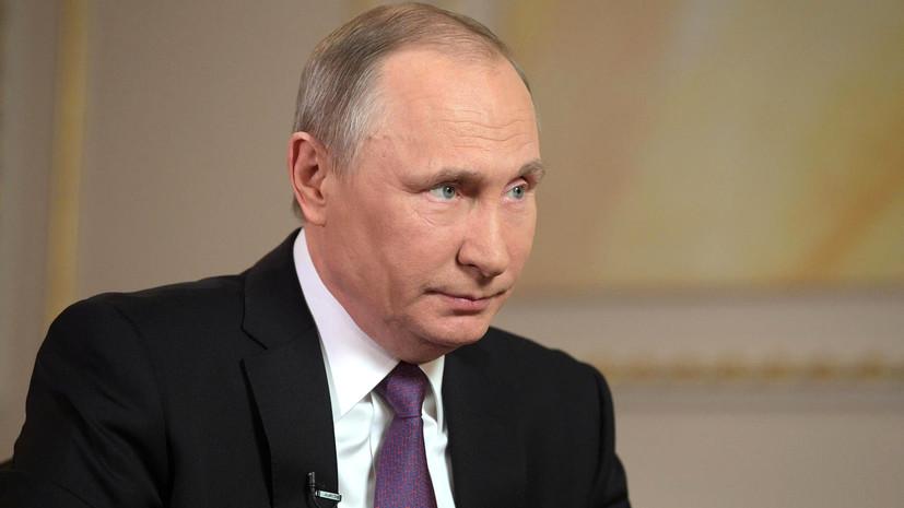 Путин выразил соболезнования Абэ в связи с жертвами наводнений в Японии