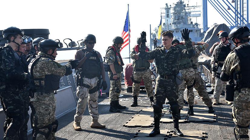 На Украине начались совместные с США учения «Морской бриз»