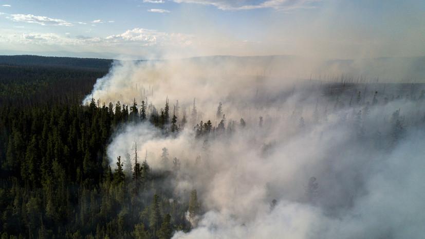 В Якутии планируют тушить лесные пожары с помощью искусственного дождя