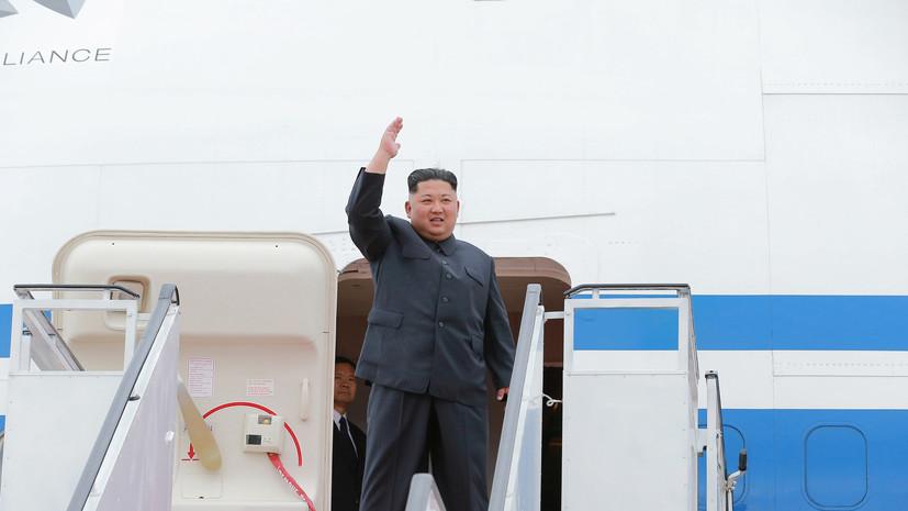 СМИ: Самолёт Ким Чен Ына был замечен во Владивостоке