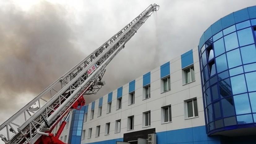 Пожар в цехе Иркутского авиазавода ликвидирован
